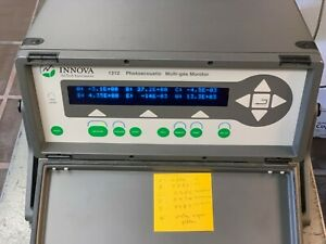 Innova Airtech Model 1312 Photoacoustic Model 1314 Lumasense Multigas Analyzer