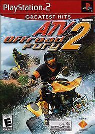 ATV Offroad Fury 2 (Sony PlayStation 2  2002) PS2 GAME Complete