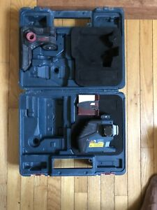 Bosch Gll3 80 Red Self levelling 3 plane Laser Level