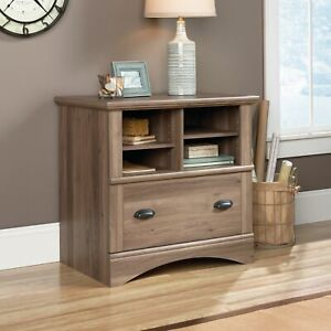 Lateral File Storage Filing Cabinet Folders Organizer Home Office Furniture Wood