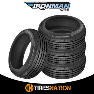 4 New Ironman Rb 12 Nws 215 75 15 100s All season Touring Tire