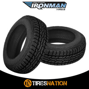 1 New Ironman All Country A T Lt245 75r17 Tires