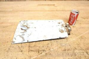 Vintage Ford 8n 9n 2n Tractor Parts Hood Lid With Hinge Latch