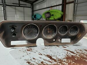 1973 Dodge Charger Rallye Dash Cluster