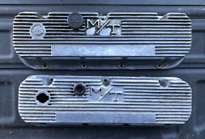 Vintage Mickey Thompson Big Block Chevy Bbc M t Valve Covers 103r 48b