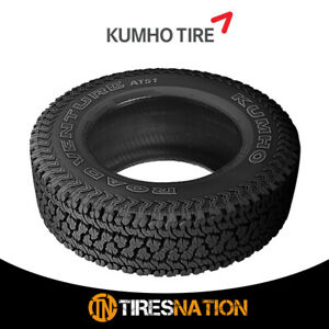 1 New Kumho At51 Road Venture At Lt265 75r16 123 120r All Terrain Tire
