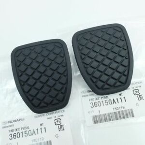 Two Genuine Subaru Impreza Legacy Forester Outback Brake And Clutch Pedal Pads