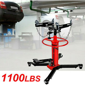 A 1660lbs 0 75ton Transmission Jack 2 Stage Hydraulic W 360 For Car Auto Lift