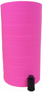 1136 Monarch Pink Labels One Sleeve 8 Rolls 14 000 Labels