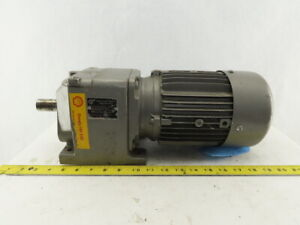 Nord 80lh 4cus 37 54 1 Ratio 47rpm 1hp 230 460v Right Angle Gear Motor