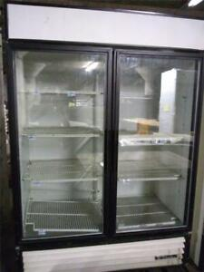 2 Door Cooler Reach In Glass Door Refrigerator Commerical Refrigeration True
