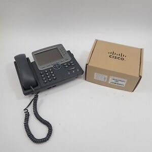 Cisco Cp 7975g Voip Ip Business Phone W Handset Stand New Wall Mount Kit