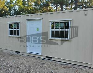 20 Container Office Built With Used Container