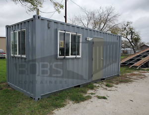 20 Basic Container Office Built With New Container