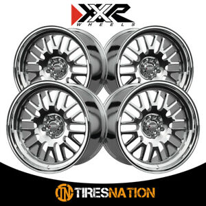 4 Xxr 531 18x11 5 100 73 1 Hub 20 Offset Platinum Wheel Rim