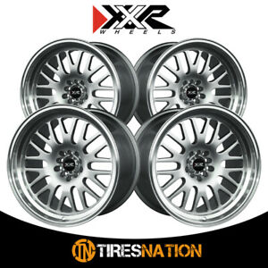 4 Xxr 531 18x11 5 100 73 1 Hub 20 Offset Hyper Silver Ml Wheel Rim