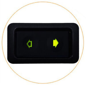 Universal Car Electric Power Window Switch Button With Green Light 6 pin 12 24v