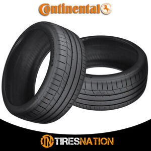 2 New Continental Extremecontact Sport 325 30r19 101y Performance Summer Tire