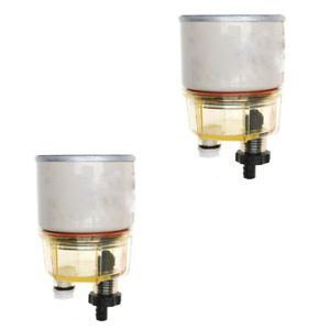 2pcs Fuel Filter Water Separator Spin on R12t 120a Replacement Element For Racor