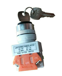 New On off Key Switch Security Lock Heavy Duty Keyed Power Ignition