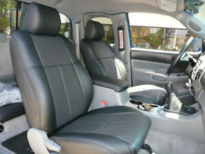 Clazzio Pvc Synthetic Leather Custom Seat Covers For 2009 2011 Toyota Tacoma