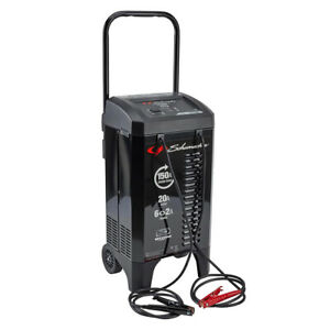 Schumacher Sc 1364 2 Amp 12v Wheeled Automatic Battery Charger engine Starter