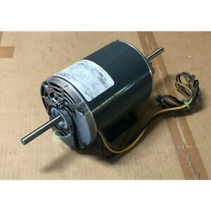 Ge Industrial Sys 5kcp36sn376bs 3 4hp Belt Driven Double Shaft Ccw Blower Motor
