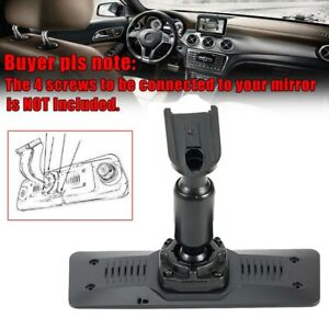 Car Interior Rear View Mirror Mounting Back Plate Panel Bracket For Car Dvr