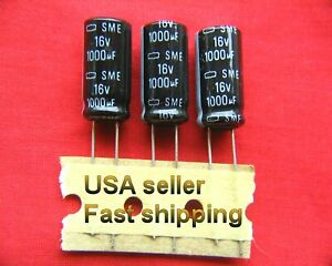 4 Pcs 1000uf 16v Electrolytic Capacitors Nippon l Free Shipping