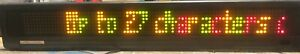 Betabrite Programmable Led Electronic Scrolling Message Display Sign