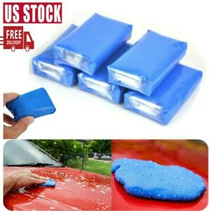 5 Pack Auto Magic Car Cleaning Clay Bar Detailing Wash Cleaner Sludge Mud Remove