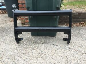 Vintage Push Bar Grill Guard W light Mounts