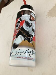 1990 Wayne gretzky The Great One Coca Cola Water Bottle Promotion