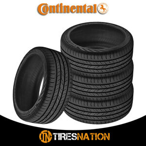 4 New Continental Contiprocontact 225 45 17 91h All Season Grand Touring Tire