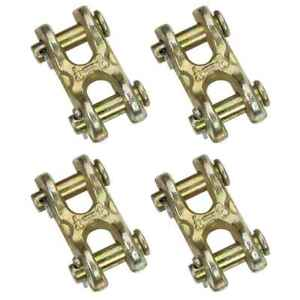 5 16 Double Clevis Hook Grade 70 4 Pack