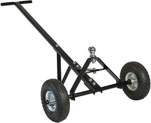 600 Lbs Utility Trailer Rv Camper Boat Hand Dolly With Two 12 Pneumatic Tires