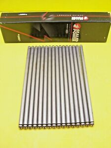 Set Of 16 Sealed Power Rp 3093 Pushrods Fits Chevy 265 283 307 327 350 400