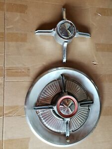 1965 Ford Spinner Hub Cap Wheelcover With Extra Spinner 15 Inch