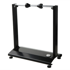 Motorcycle Static Wheel Balancer Tire Stand Street Truing Stand Universal Black