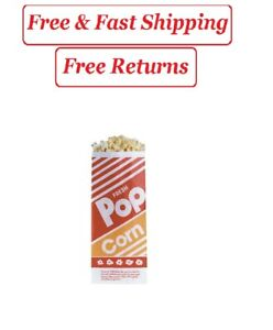 Gold Medal Popcorn Bags 1 Oz 1 000 Ct Popcorn Supplies Home