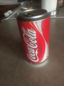 Coca Cola Can Coaster Dispenser with 75 Coca Cola Coasters