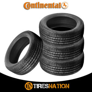 4 New Continental Crosscontact Lx Sport 255 55r19xl Tires