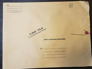 X ray Film Mailers 54984 For 14x17 Films Qty 100 2 Boxes Of 50