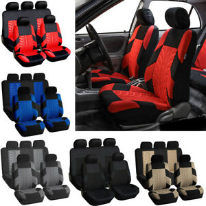 Universal Car Full Seat Covers Car Interior Seat Protection Cover Top Front Rear