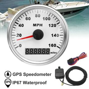 85mm Gps Speedometer 160mph For Cars Truck Motorcycle Universal