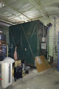 Bayco Industrial Burn Off Oven Powder Coating Oven paint Removal Oven