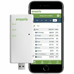 Emporia Vue Smart Home Energy Monitor Connects Your Electric Meter Solar net