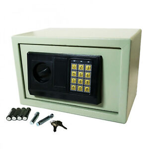 Universal Security Digital Steel Wall Safe Box Large Electronic Keypad Key Lock