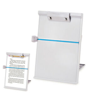 Document Paper Clip Holder Stand Adjustable Paper Reading Stand Office Supplies