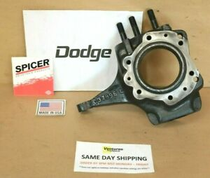 Dodge W100 Dana 44 Steering Knuckle 1975 1979 C37896 L Left Hand Drivers Side